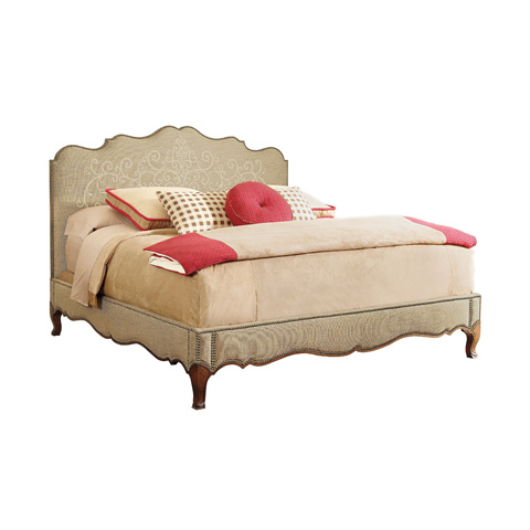 Image of Monroe Upholstered King Bed