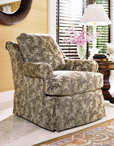 Henredon - Joslin Skirted Club Chair - H0109