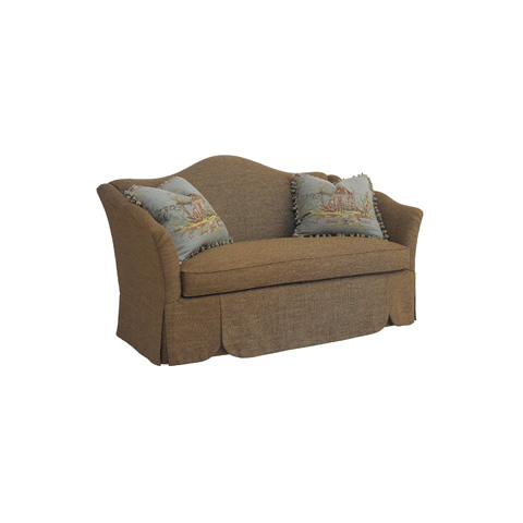 Henredon - April Camel Back Loveseat - H0721-A