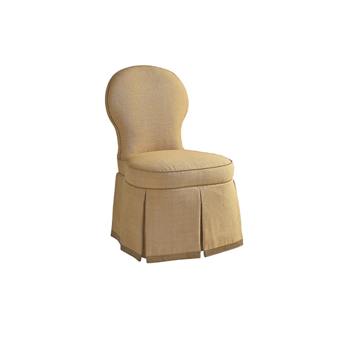 Henredon - Dorset Skirted Armless Chair - H0822