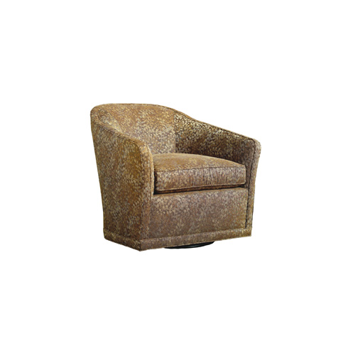Henredon - Milano Swivel Tub Chair - H0911