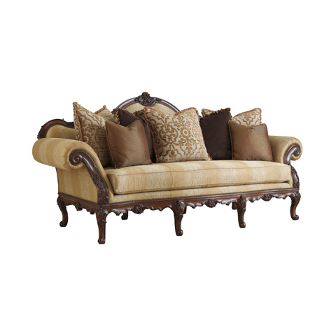 Henredon - Florence Sofa with Carved Frame - H1110-C