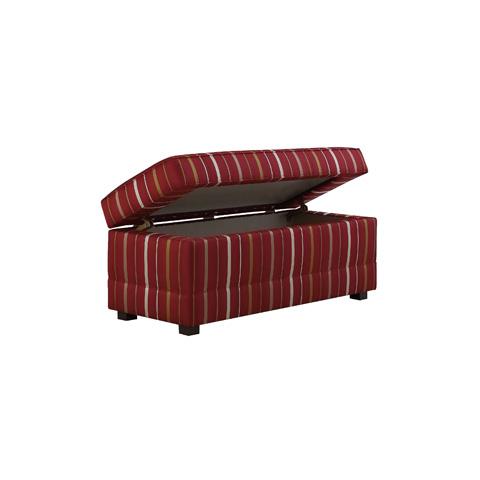Henredon - Visionaire Custom Storage Ottoman - H1255-STO