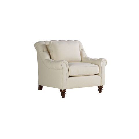 Henredon - Billy Tufted Arm Chair - H1308