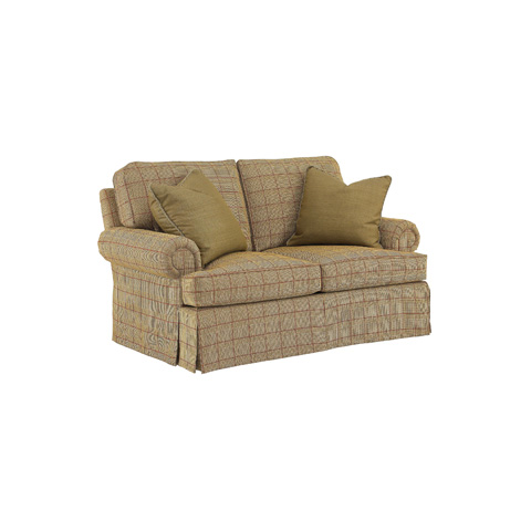 Image of Fireside Skirted Loveseat