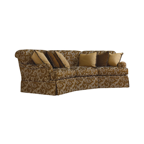 Henredon - Fireside Scroll Back Wedge Sofa - H2000-W