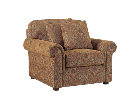 Henredon - Fireside Rolled Arm Chair - H9500