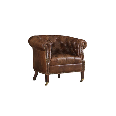 Image of Tufted Tub Chair
