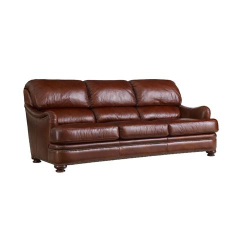 Image of Bustle Back Round Arm Sofa