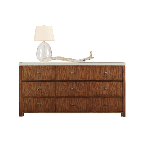 Henredon - Dresser with Stone Top - 7100-03