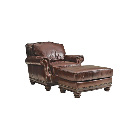 Henredon - Leather Club Chair - IL7741