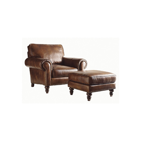 Image of Leather Club Chair
