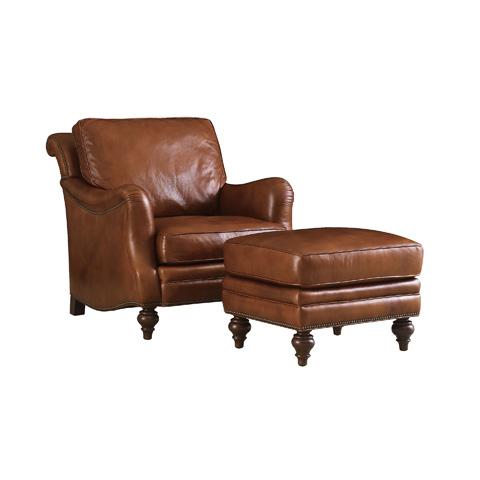 Henredon - Leather Club Chair - IL8832