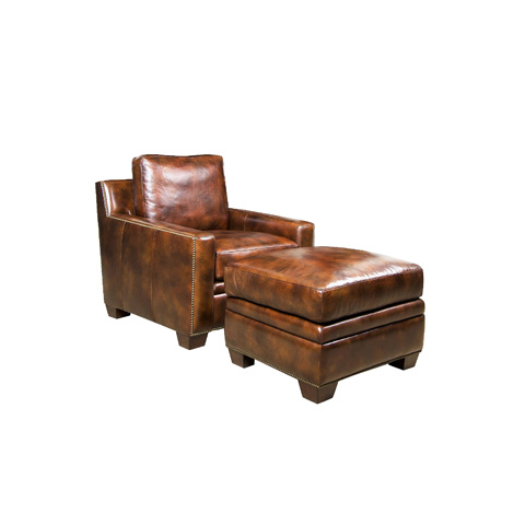 Henredon - Leather Club Chair - IL8842
