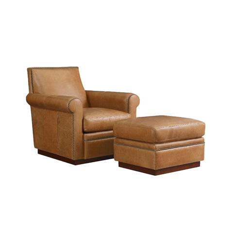 Henredon - Leather Club Chair - IL8852