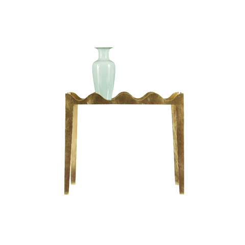 Henredon - Ruffle End Table - 8202-41-000