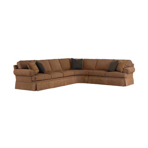 Image of Fireside Sectional Sofa