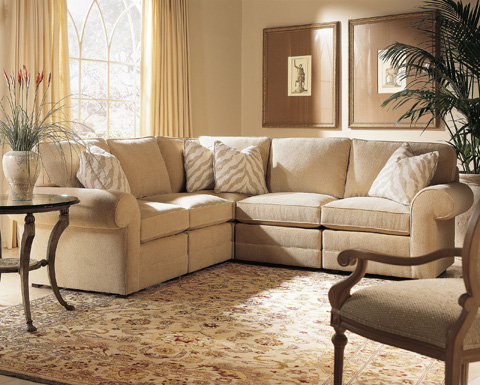 Image of Fireside Sectional Sofa