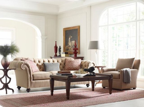 Image of Mayfair Two Piece Living Room Collection
