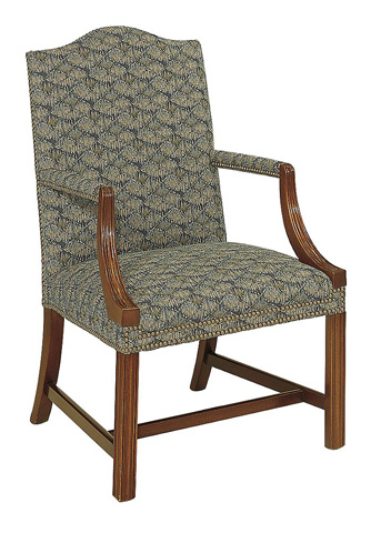 Hickory Chair - Small Martha Washington Chair - 1058-11