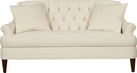 Hickory Chair - Marler Tufted Apartment Sofa - 109-68