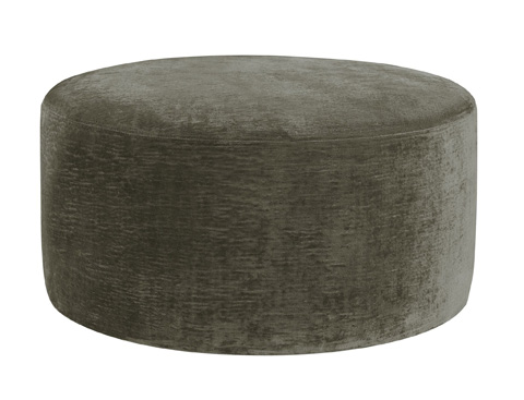 Hickory Chair - Saturn Round Ottoman - 130-30