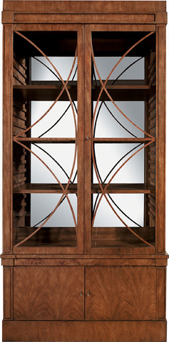 Hickory Chair - Artisan Grand Cabinet with Glass Doors - 146-11/147-11