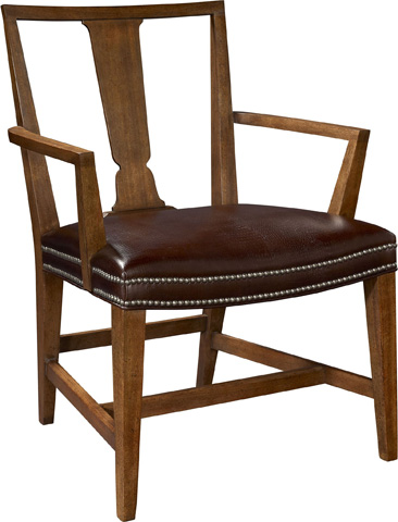 Hickory Chair - Surry Mahogany Arm Chair - 151-11