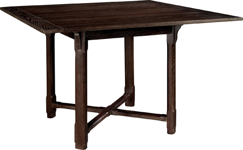 Hickory Chair - Piedmont Counter Height Dining Table - 1538-10/1539-11