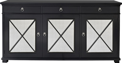 Hickory Chair - Deauville Black Sideboard - 1547-16