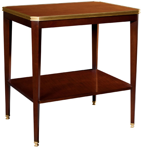 Hickory Chair - Austell Side Table with Wood Top - 1586-10/1586-21
