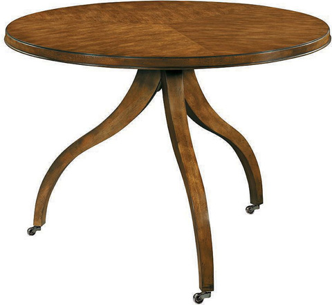 Hickory Chair - Ingold Center Table in Mahogany - 185-11/184-71
