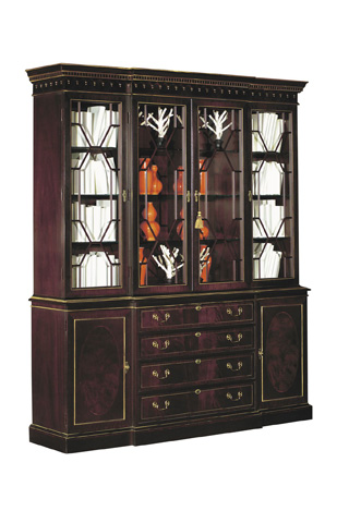 Hickory Chair - Breakfront China Cabinet - 2235-70/2135-70
