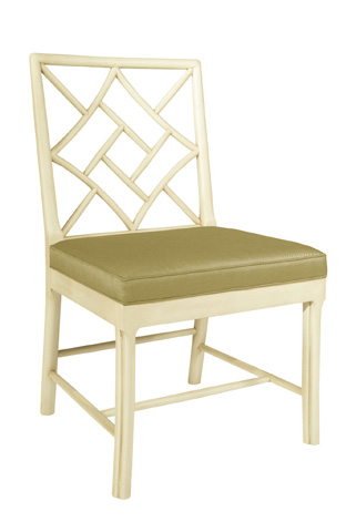 Hickory Chair - Fretwork Side Chair - 2552-10