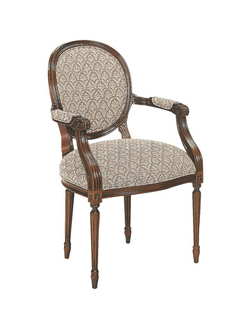 Hickory Chair - Louis XVI Arm Chair - 3105-11