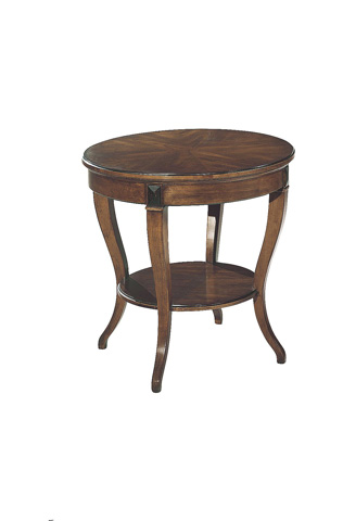 Hickory Chair - Round Klismos Lamp Table - 3278-06