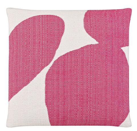 Image of Cacti Pop of Pink Throw Pillow