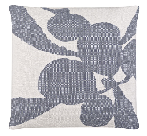Image of Tropical Plant Arctic Ice Throw Pillow