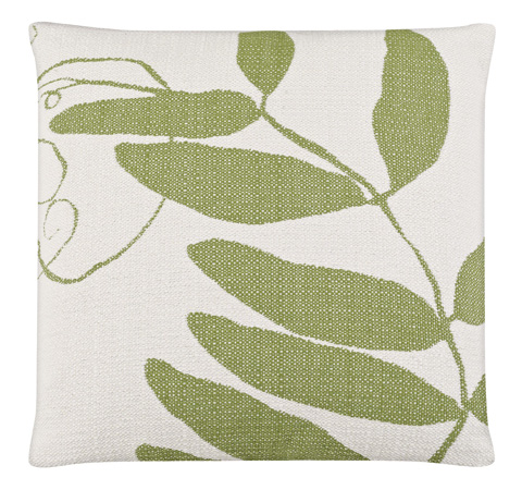Image of Vine Lily Pad Throw Pillow