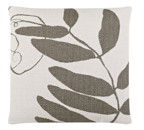 Image of Vine Nearly Nude Throw Pillow