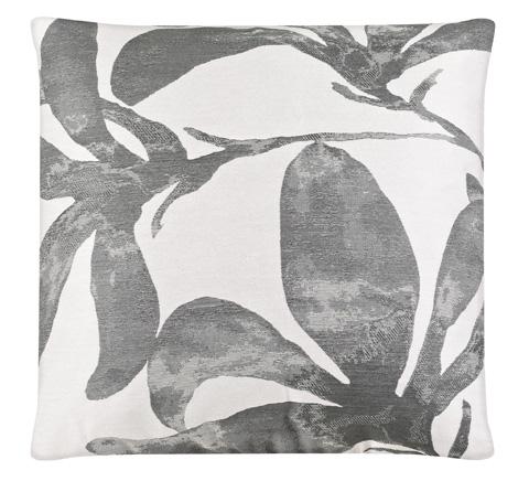 Image of Flower Fog Throw Pillow