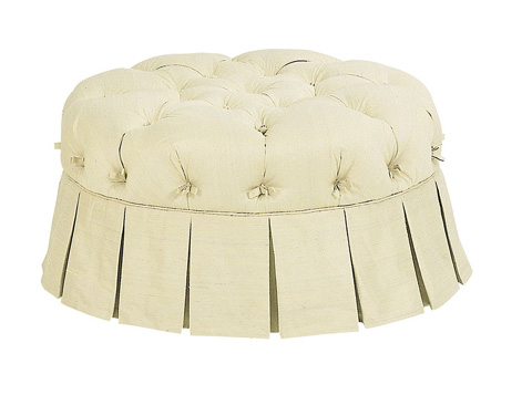 Image of Tufted Victorian Pouff
