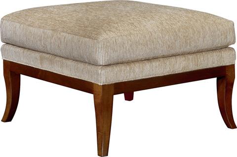 Hickory Chair - Curtis Ottoman - 5303-29
