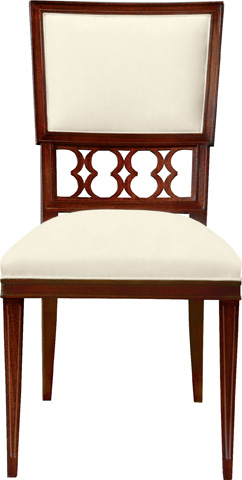 Image of Ilsa Side Chair with Back Panel
