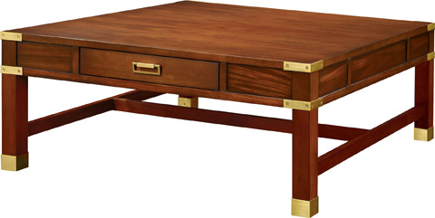 Hickory Chair - Rupert Cocktail Table - 5381-10