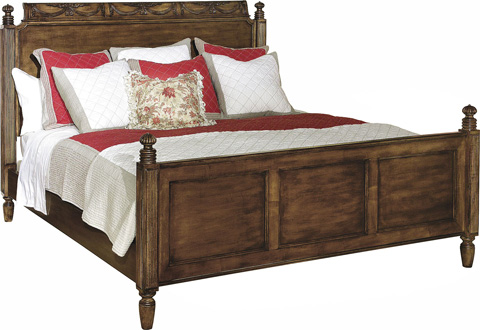 Image of English Regency King Bed