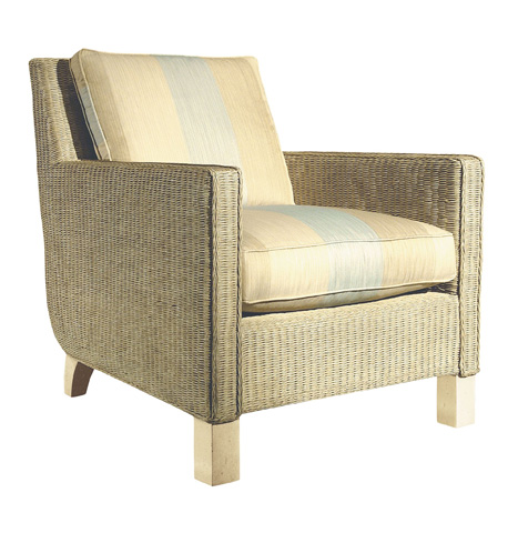 Hickory Chair - Wicker Club Chair - 7612-22