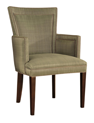 Image of Flare Back Dining Arm Chair