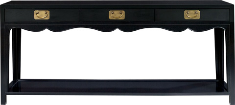 Hickory Chair - Peony Console Table - 7777-10