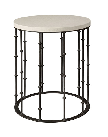 Image of Astor Side Table with Stone Top